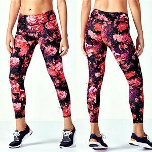 Fabletics Salar Floral Workout/Yoga Leggings XS